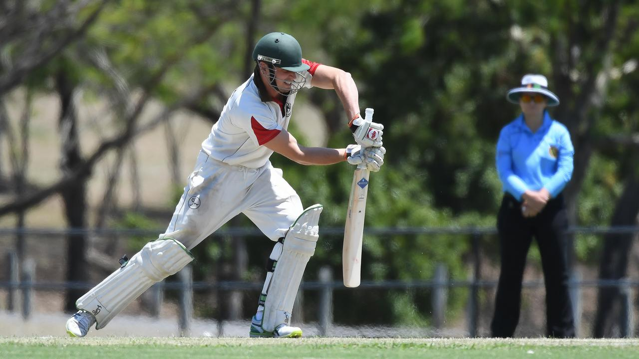 Centrals recruit Caleb Risson set up his team's opening Harding Madsen Shield victory with a brisk 76 against his former team. Picture: Rob Williams