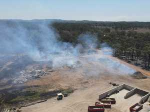 Six fires burning in Gladstone region