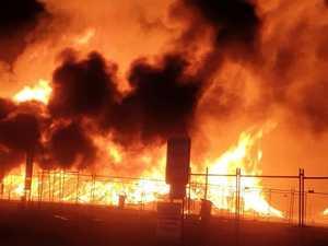 PHOTOS: Water bombers attack Benaraby blaze