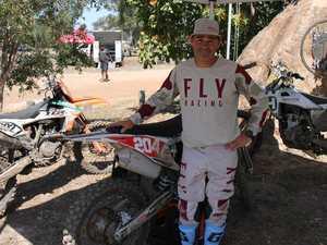 Motocross racers go to school at Benaraby
