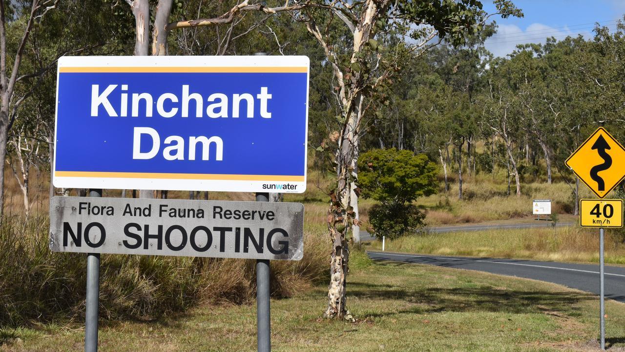 Kinchant Dam. Part of the Eton Water scheme catchment.