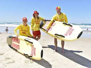 Salt Surf Life Saving Club's Jack Hall, Koby Roberts