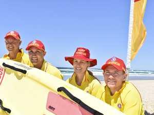 Salt Surf Life Saving Club's Sam Coleman, Jayd