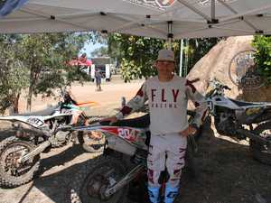 Ben Schodel ran a motocross coaching clinic at