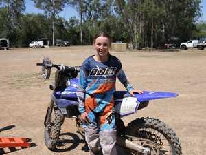 Former national champion Taylah McCutcheon will
