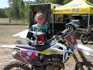 Queensland Women's motocross champion Tahlia Drew was