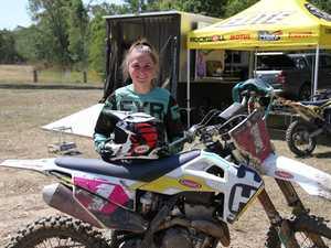 Queensland Women's motocross champion Tahlia Drew was
