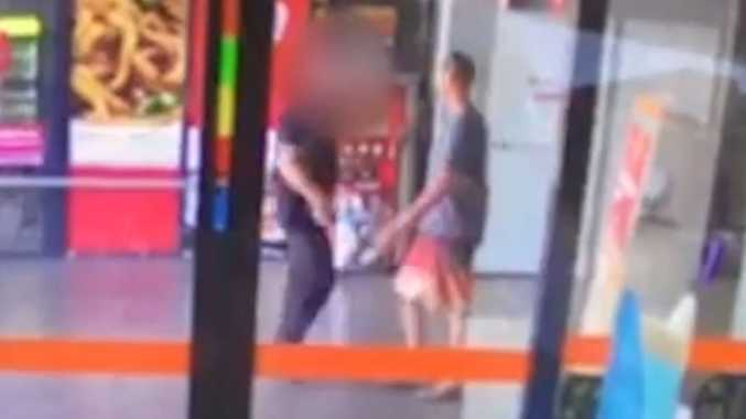 WATCH: Store worker knocked unconscious stopping theft