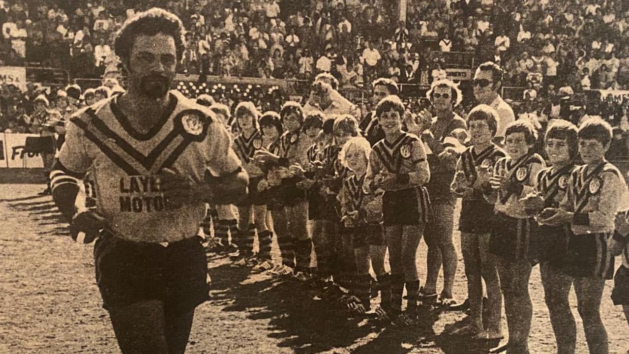 Popular premiership-winning player Alan Currie