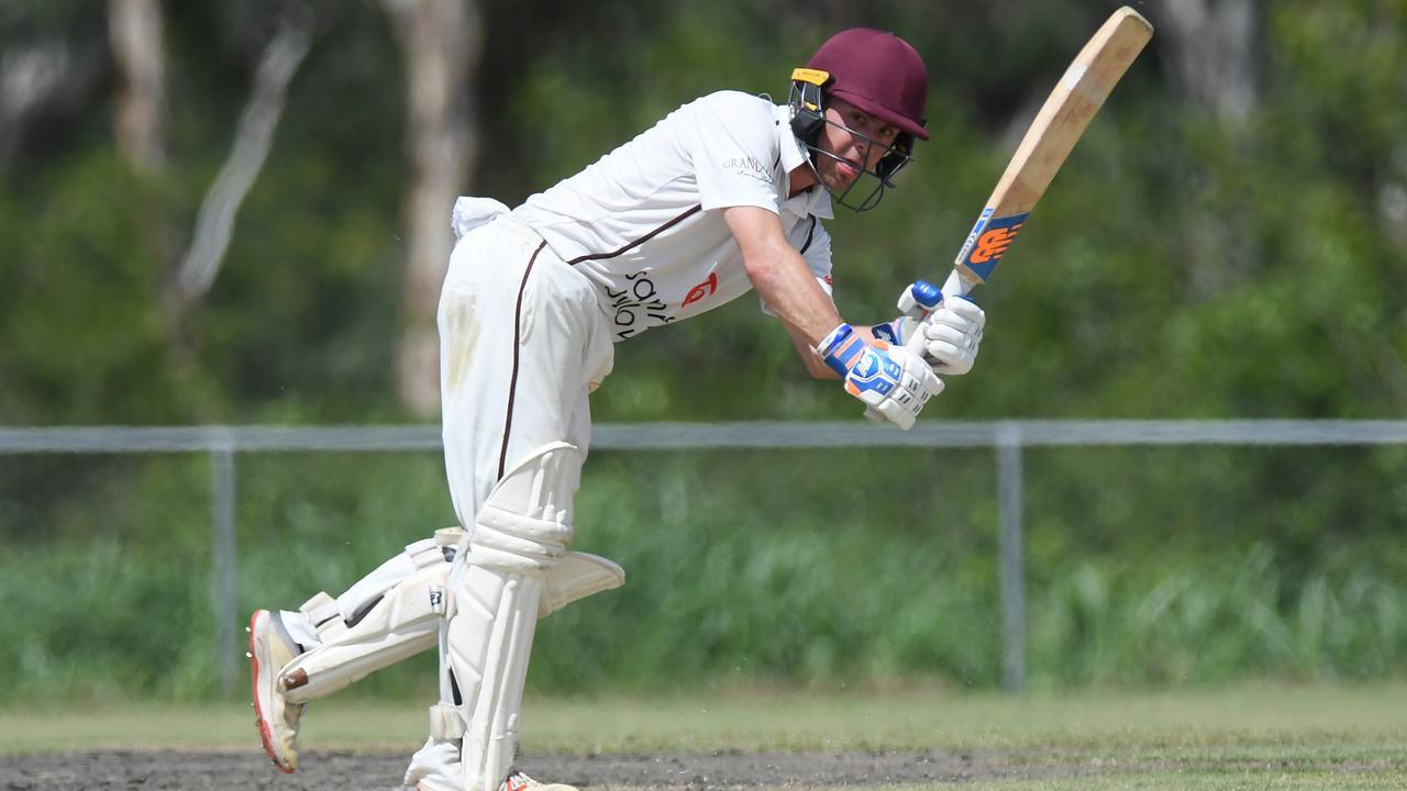 Ipswich Logan Hornets batsman Bryn Llewellyn.