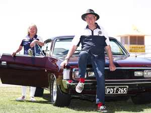 Classic cars swarm Coolangatta to help struggling businesses