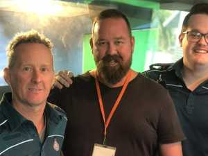 'You saved my life': Announcer reunited with heroes