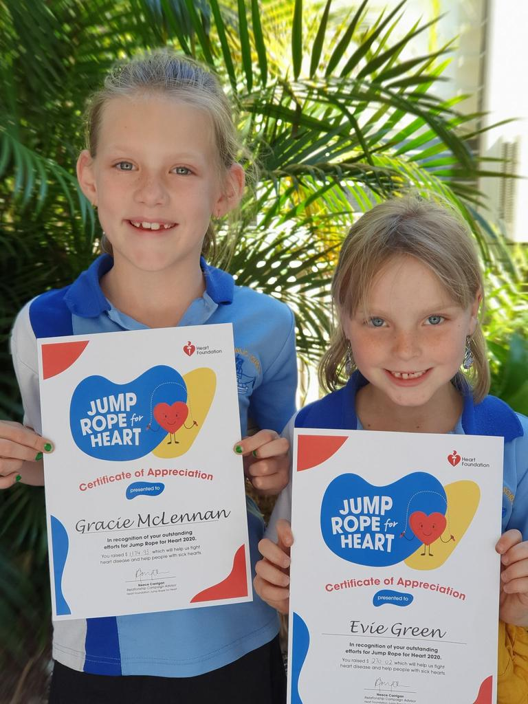 Yamba Public School students took part in the Jump Rope for Heart Jump Off Day last week.