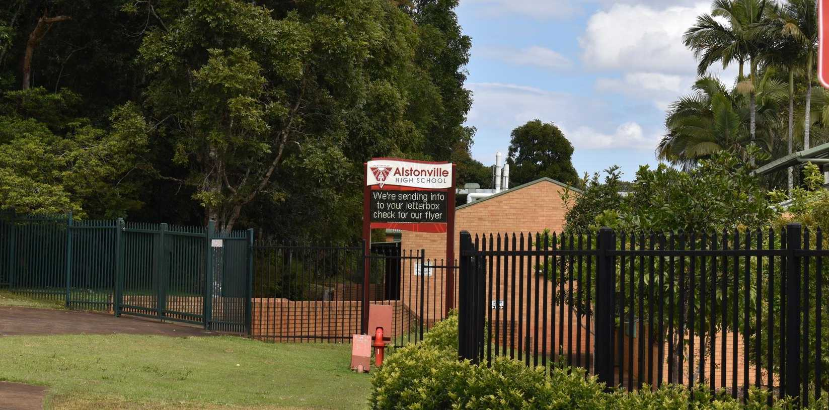 Alstonville High School parents and students are putting on a non-official school formal.