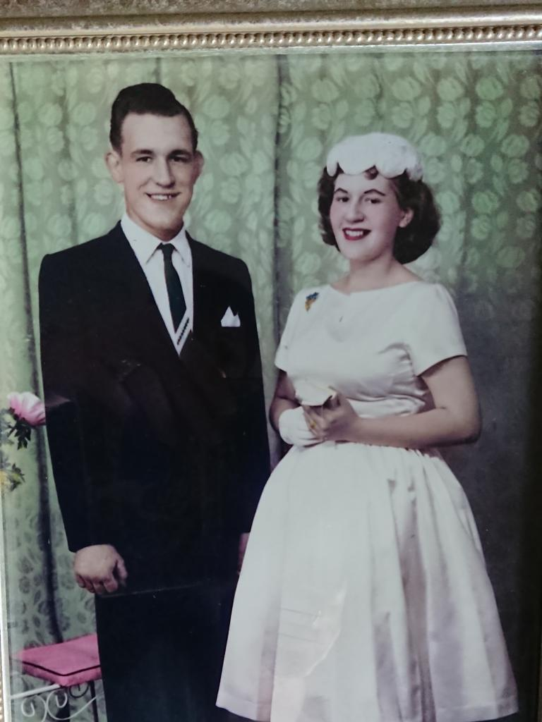 YOUNG LOVE: William and Daphne Cahill