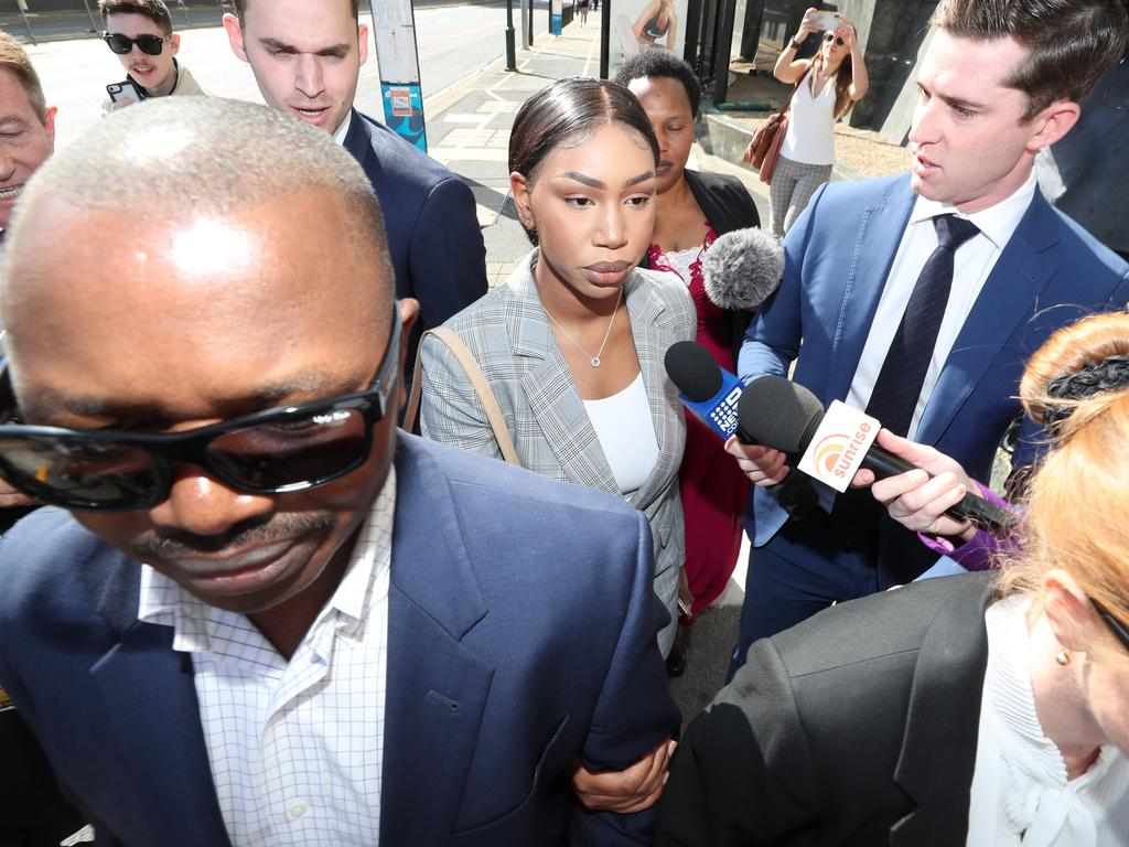 Olivia Muranga is one of the trio who allegedly lied upon returning to Queensland from Melbourne. They contracted COVID-19 and spread it throughout the community. Pic Peter Wallis