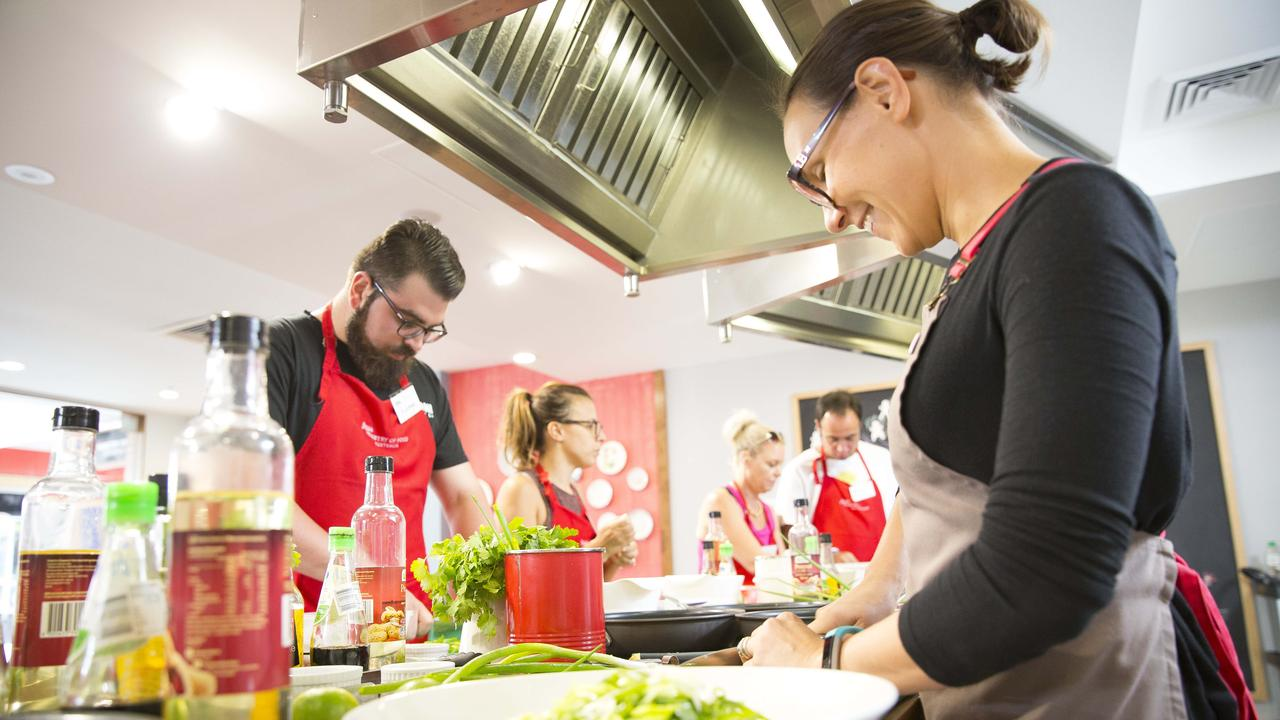 The previous mobile cooking classes are now a virtual cooking class.