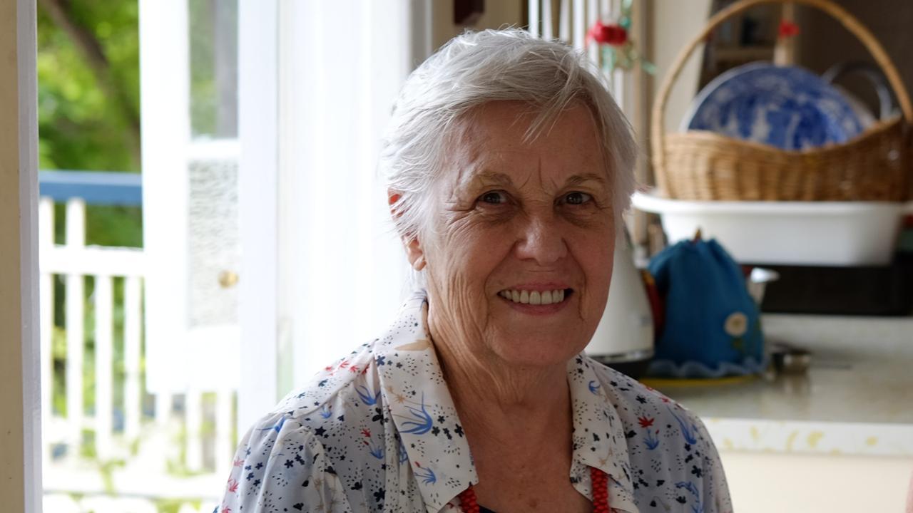 Former Toowoomba resident Jennifer Cardell (left).