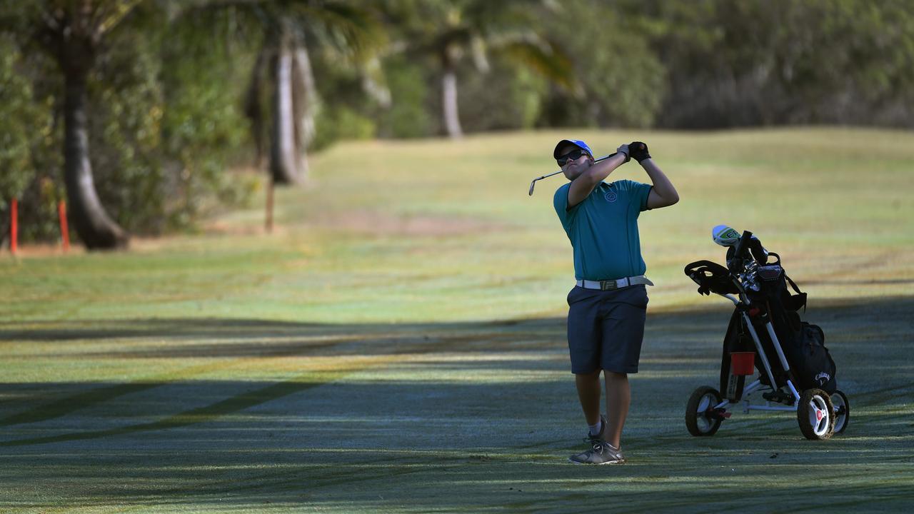 FLASHBACK: Jhye De Been at the Bargara Golf Club. Photo: Mike Knott.