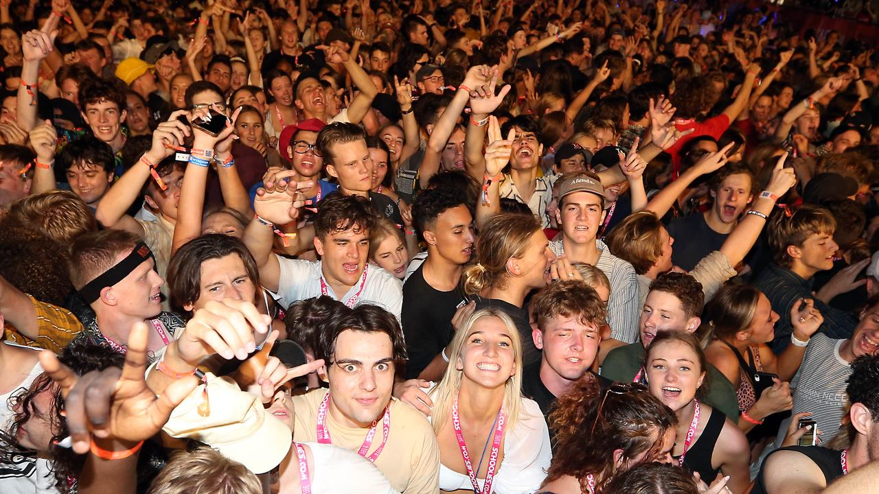 Schoolies kids are planning to travel to some new destinations in NSW amid COVID travel restrictions. Picture: Richard Gosling