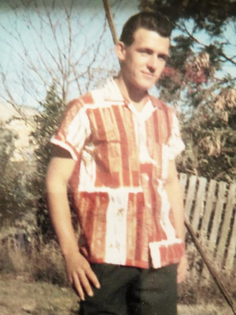 FLASHBACK: William (Johnny) Cahill as a young man.