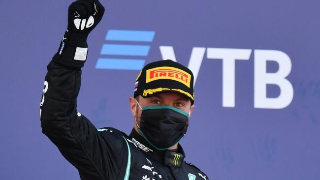 Valtteri Bottas finally got a win.