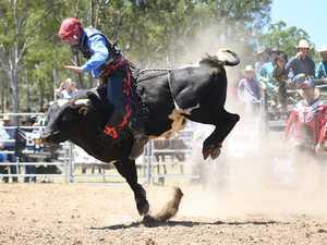 MT MORGAN JUNIOR RODEO U15 Mini Bull Ride: Jay