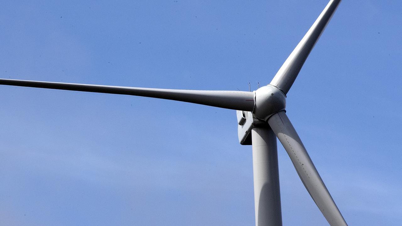 A wind turbine. Picture: Chris Kidd