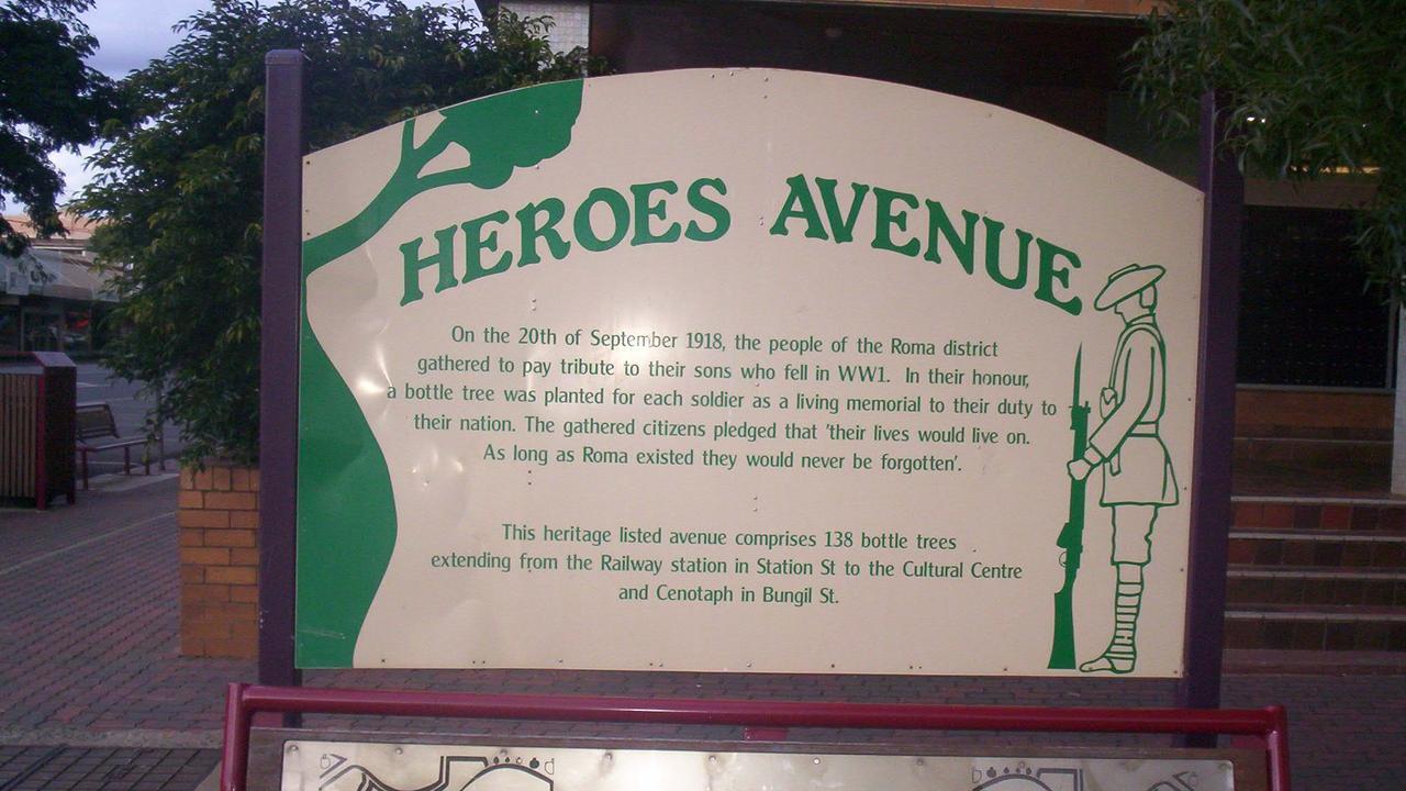 Avenue of Heroes Roma