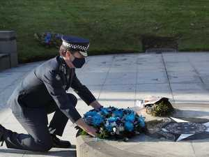 Cops killed in Porsche incident honoured