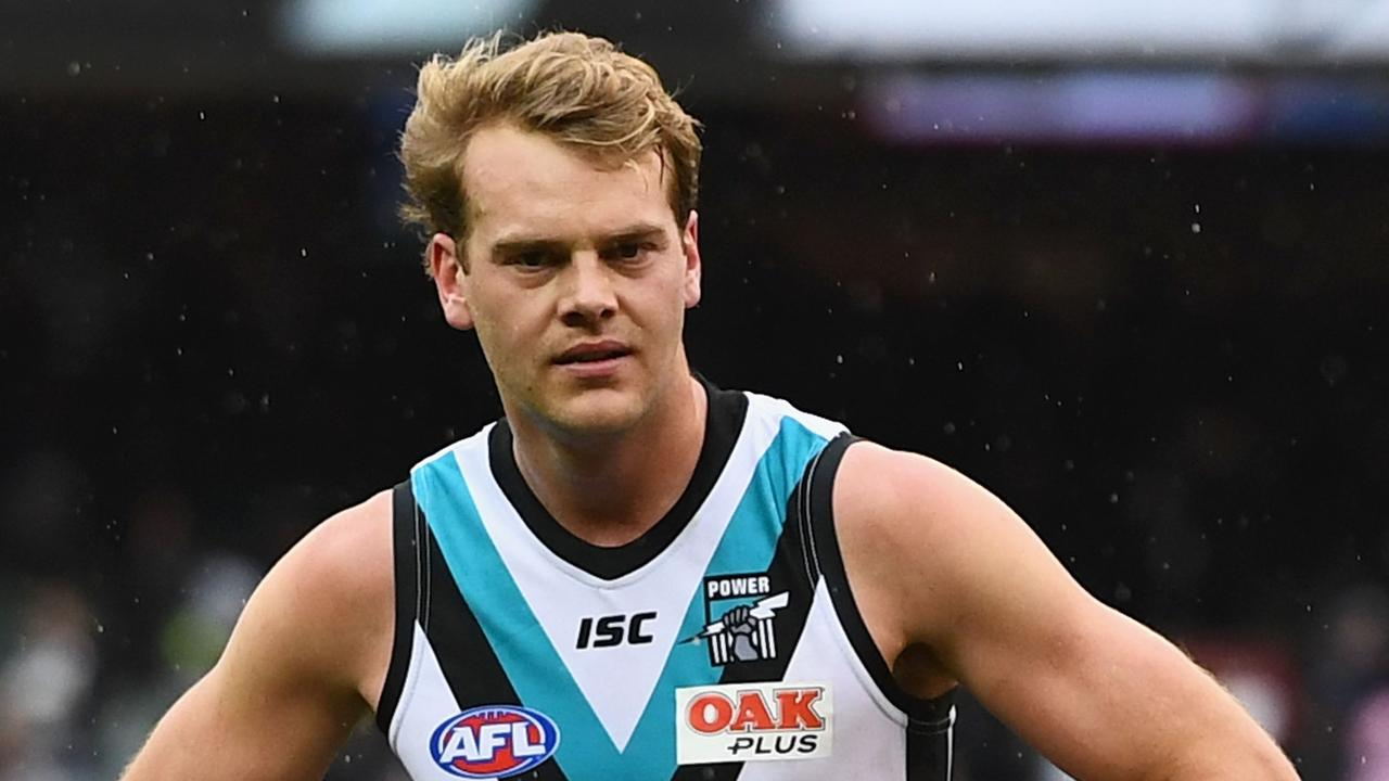 Days before officially hanging up the boots, Port Adelaide's Jack Watts was allegedly involved in an incident that's landed him in hot water.