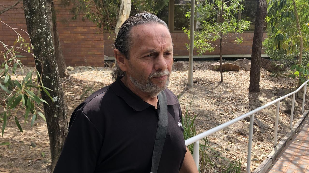 Anthony Stephen White pleaded guilty in Noosa Magistrates Court on Tuesday to one count of going armed so as to cause fear after he pointed a machete at four males. Picture: Laura Pettigrew