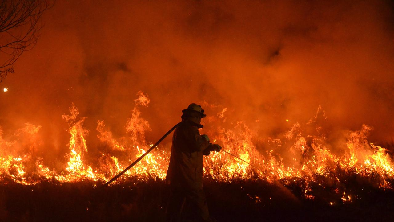A Somerset man has been charged with contravening a local fire ban after a fire he started grew out of control. PHOTO: Barclay White