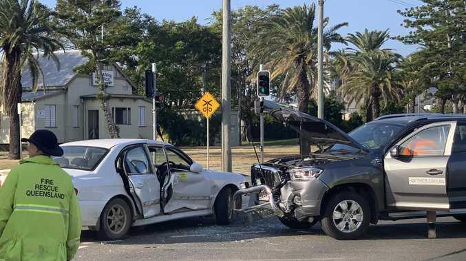 BREAKING: Lanes of traffic blocked after CBD crash