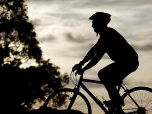 Cyclist hospitalised after morning bike ride fall