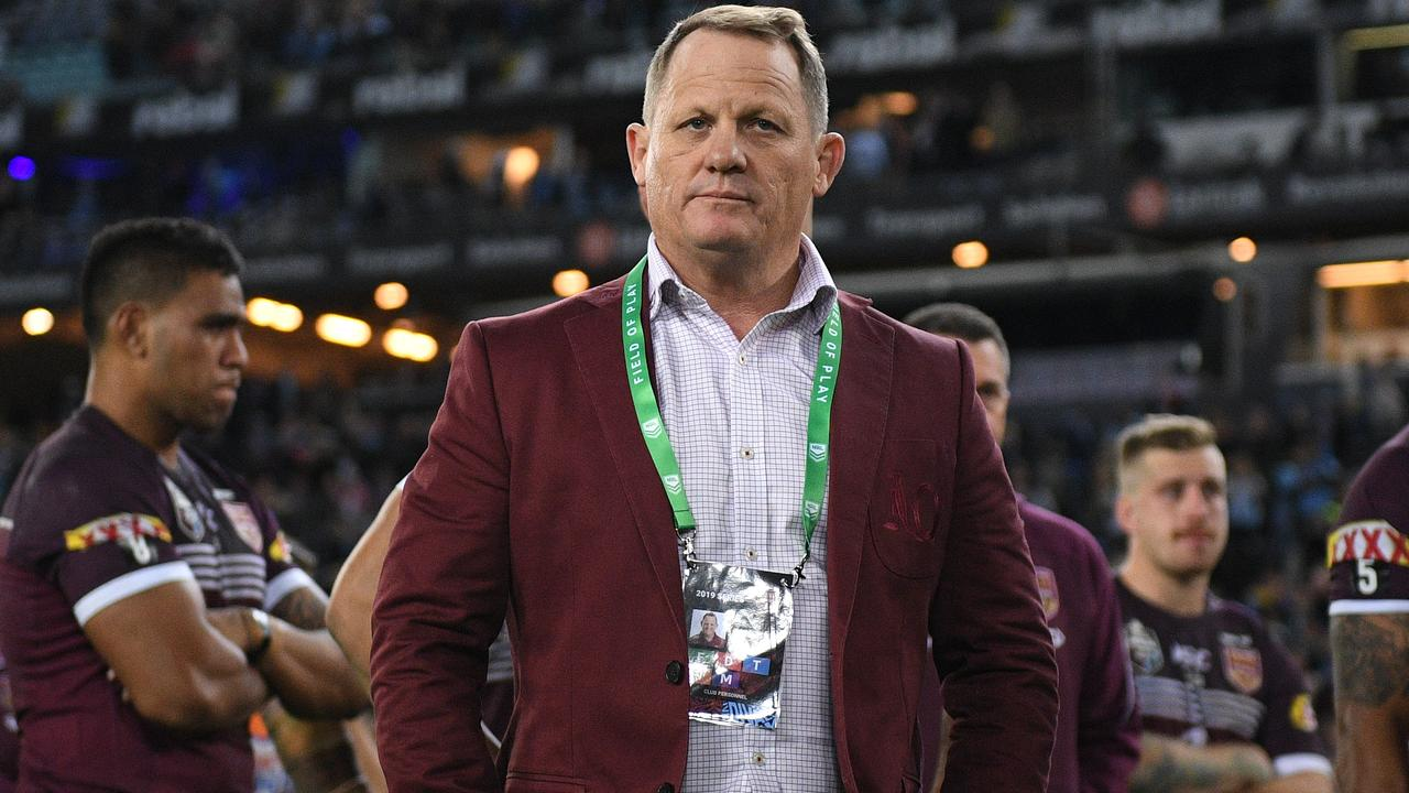 Maroons coach Kevin Walters loks set ot give up that role to take the Broncos job.