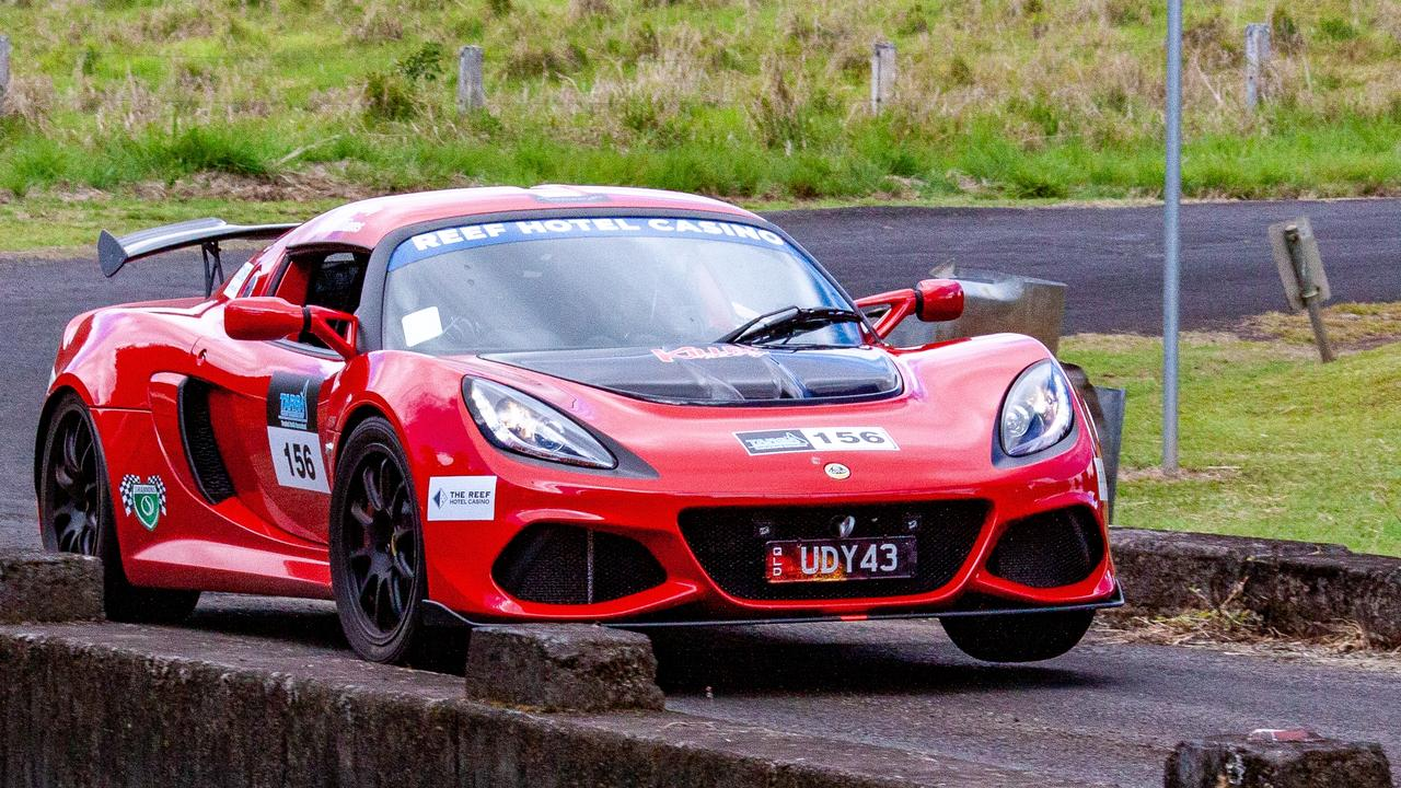 Wayne Udy's Lotus Exige 410 sports car weighs about 1100kg and has 410 horsepower. Picture: Supplied