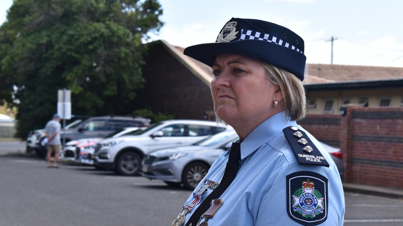 DAY TO REFLECT: Bundaberg Patrol Group Inspector Anne Vogler said it was an important day of reflection to remember the lives lost and thank all officers for taking a considerable risk each day to make Queensland safe. Picture: Rhylea Millar.