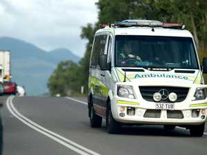 Two patients taken to hospital after Bay crash