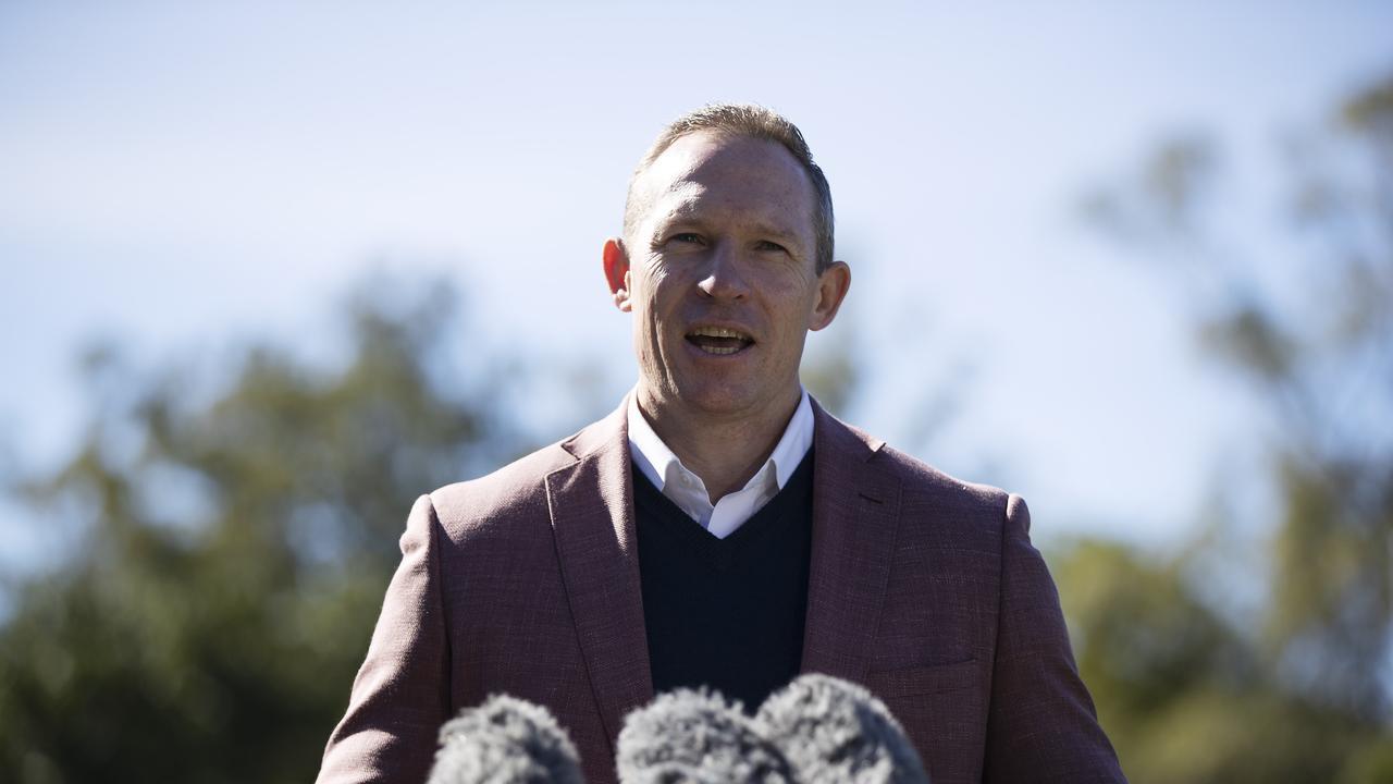 Minister for Sport Mick de Brenni. Picture: News Corp/Attila Csaszar