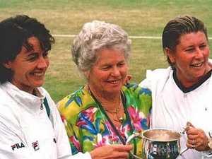 Tennis star's beautiful tribute to Burnett game-changer