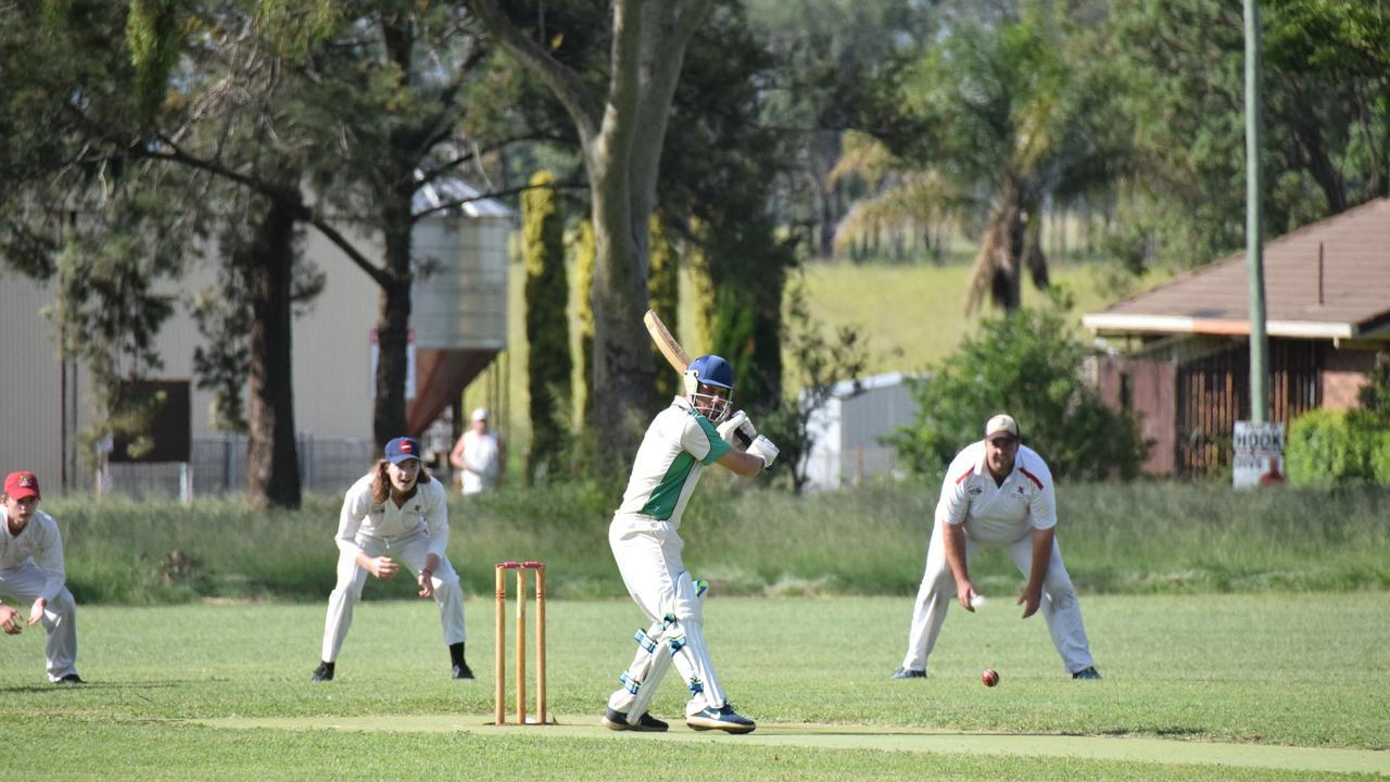 Matthew Barbour and the Kumbia Rattlers will head into the South Burnett B Grade Cricket grand final against the Murgon District Cricket Club on Saturday March 21.