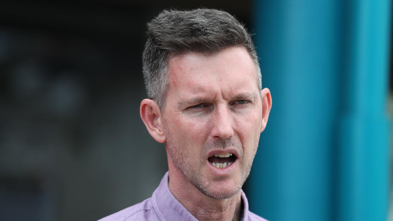Transport Mark Bailey has refuted claims he was lobbied by Jim Soorley on behalf of a restaurant owner. Picture: Annette Dew