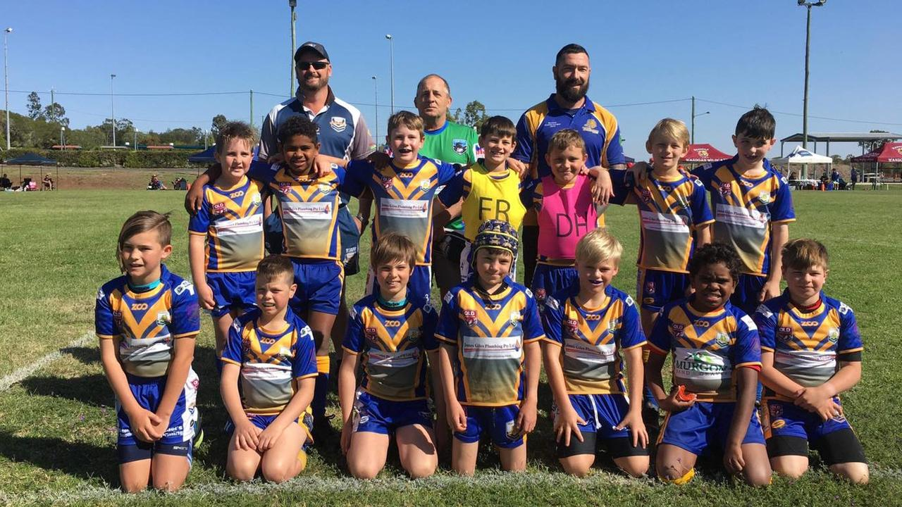 Murgon Mustangs U10 team photo at the Kirk Reynoldson Cup. (Picture: Social Media)