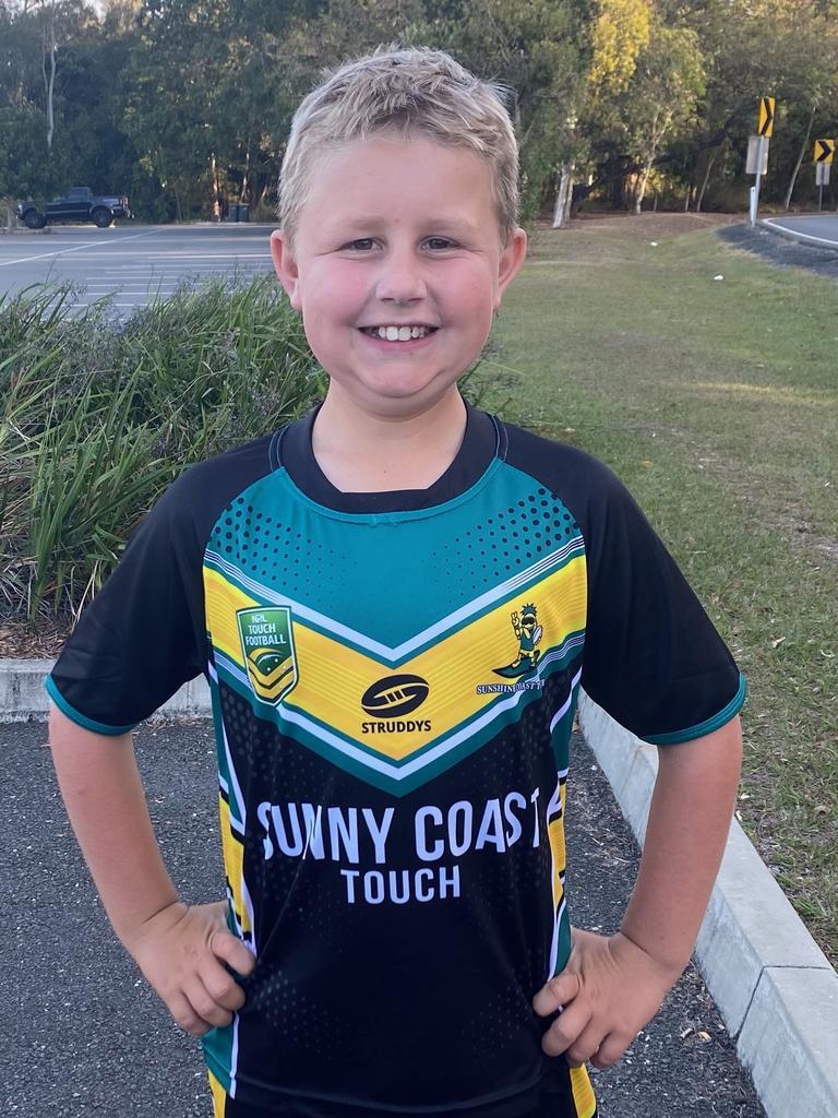 U12 Sunshine Coast Pineapples player Jasper Corsan