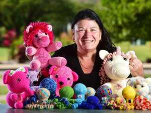 Mum's handmade toys help most vulnerable
