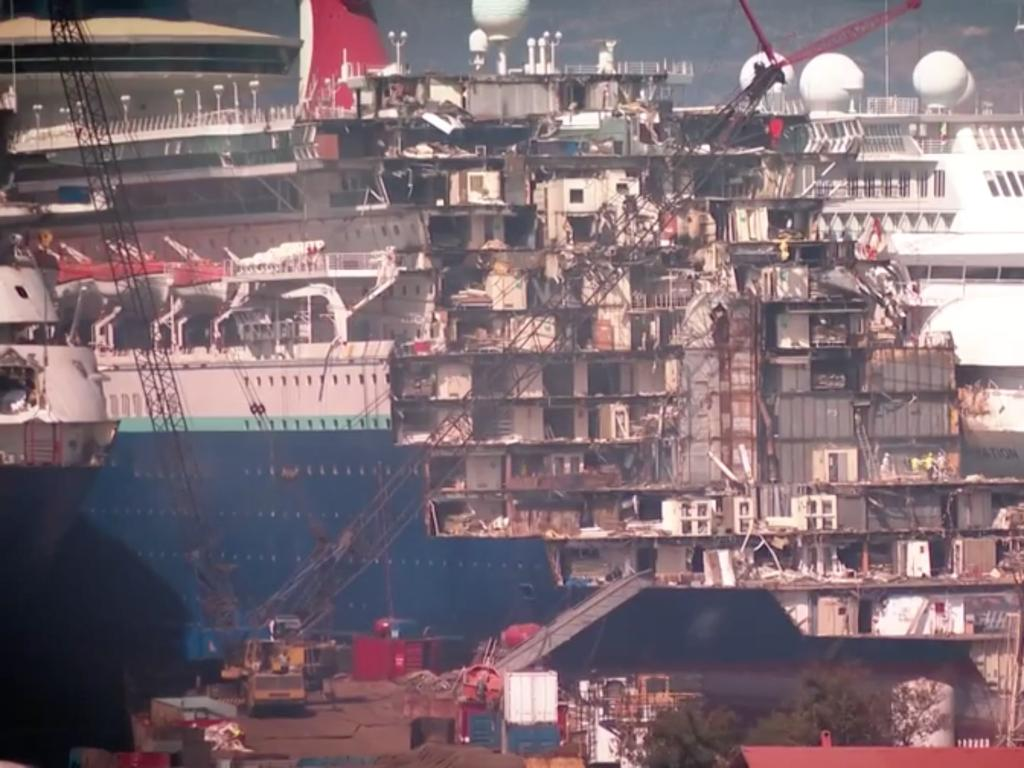 Turkish shipwreckers are having a particularly busy year. Picture: 7 News