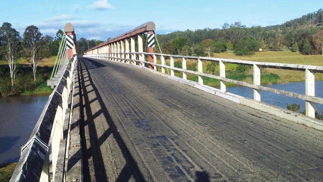 The Tabulam bridge.