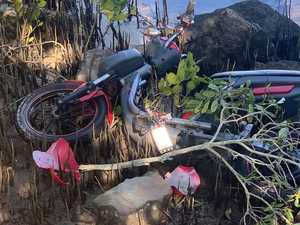 Mystery surrounds scooter dumped in mangroves