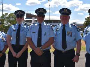 Lives of fallen officers honoured in Western Downs service